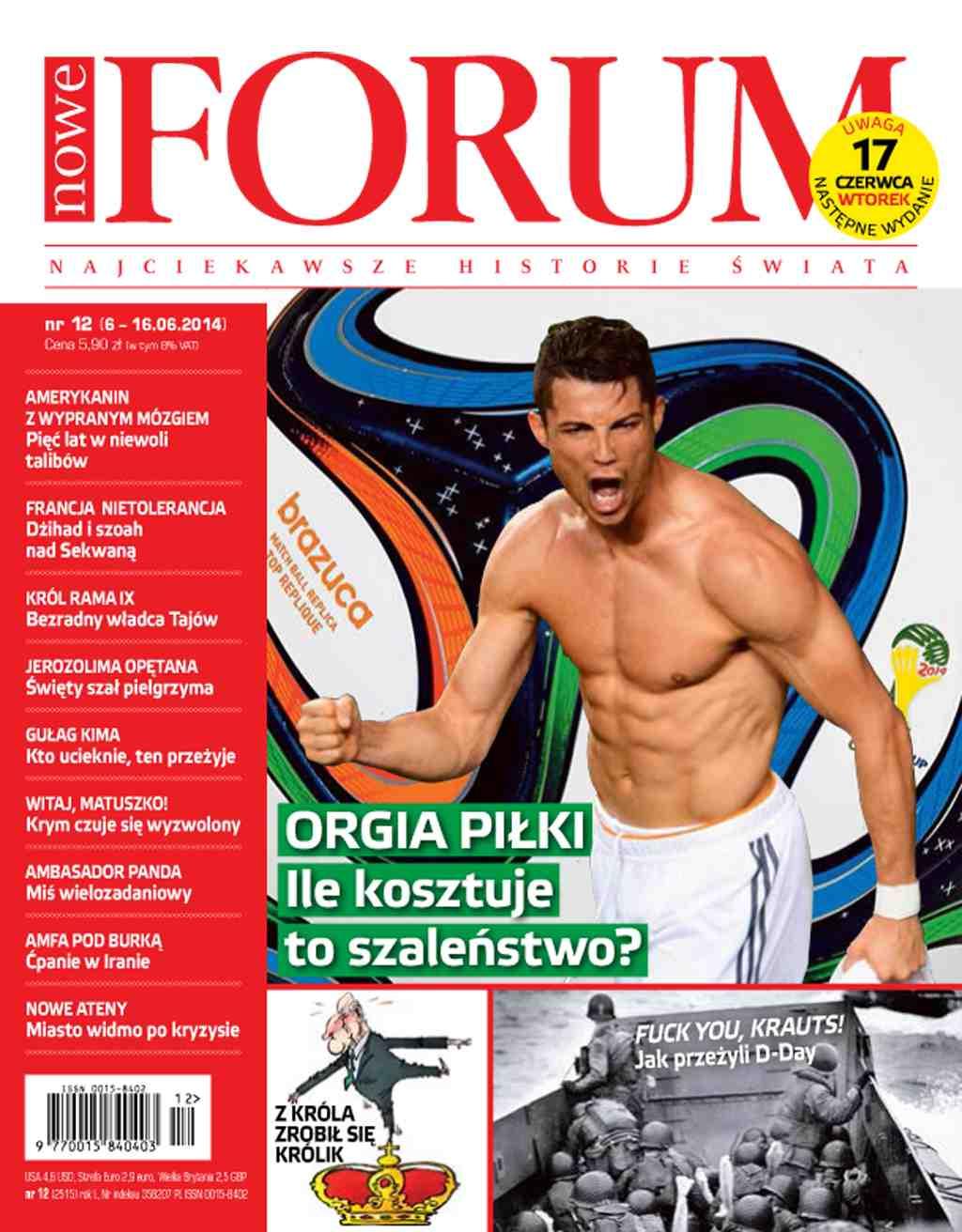 Forum nr 12/2014 - Ebook (Książka PDF) do pobrania w formacie PDF