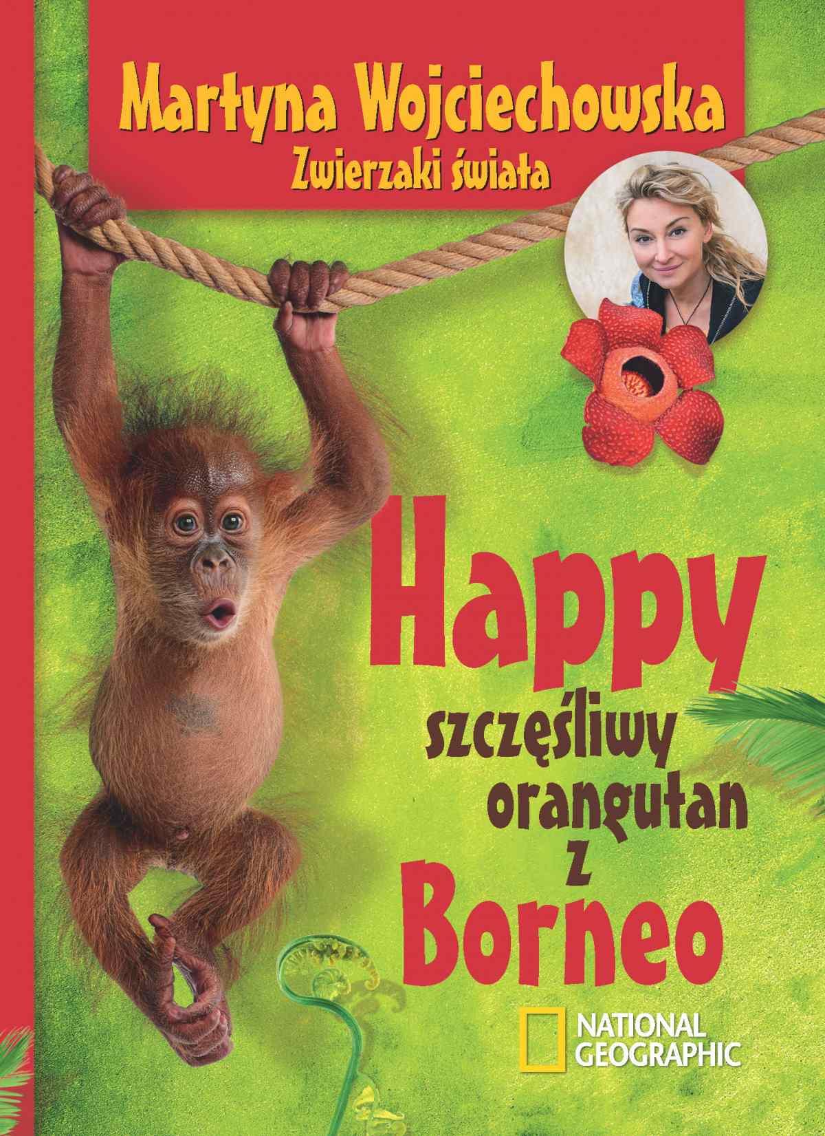 Happy, szczęśliwy orangutan z Borneo - Ebook (Książka na Kindle) do pobrania w formacie MOBI