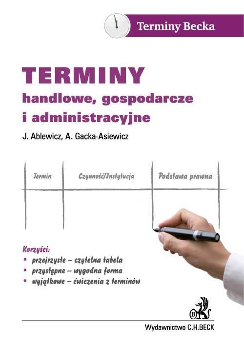 Terminy handlowe, gospodarcze i administracyjne - Ebook (Książka PDF) do pobrania w formacie PDF