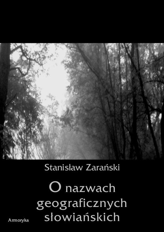 O nazwach geograficznych słowiańskich - Ebook (Książka PDF) do pobrania w formacie PDF