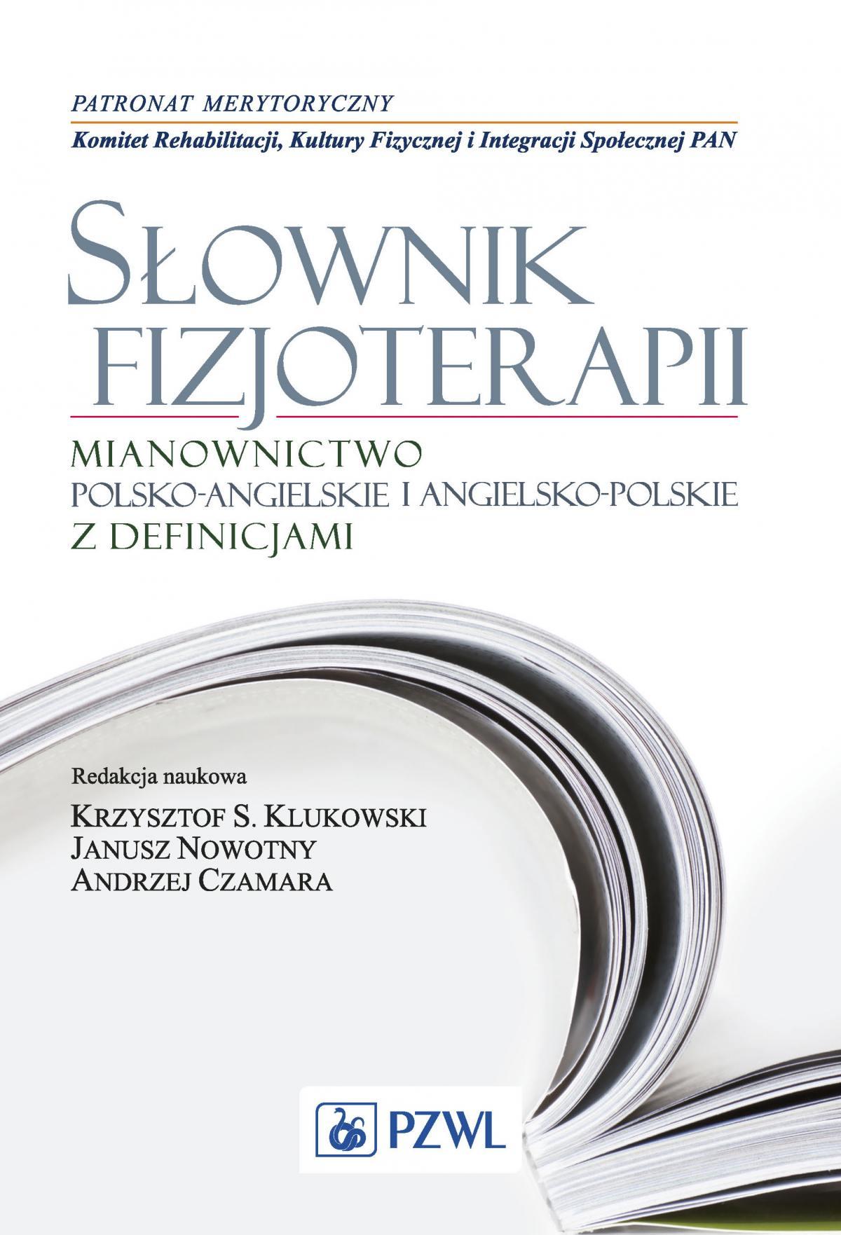 Słownik fizjoterapii - Ebook (Książka EPUB) do pobrania w formacie EPUB