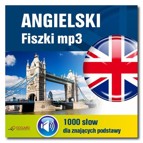 Angielski Fiszki mp3 1000 słówek dla znających podstawy - Audiobook (Książka audio MP3) do pobrania w całości w archiwum ZIP