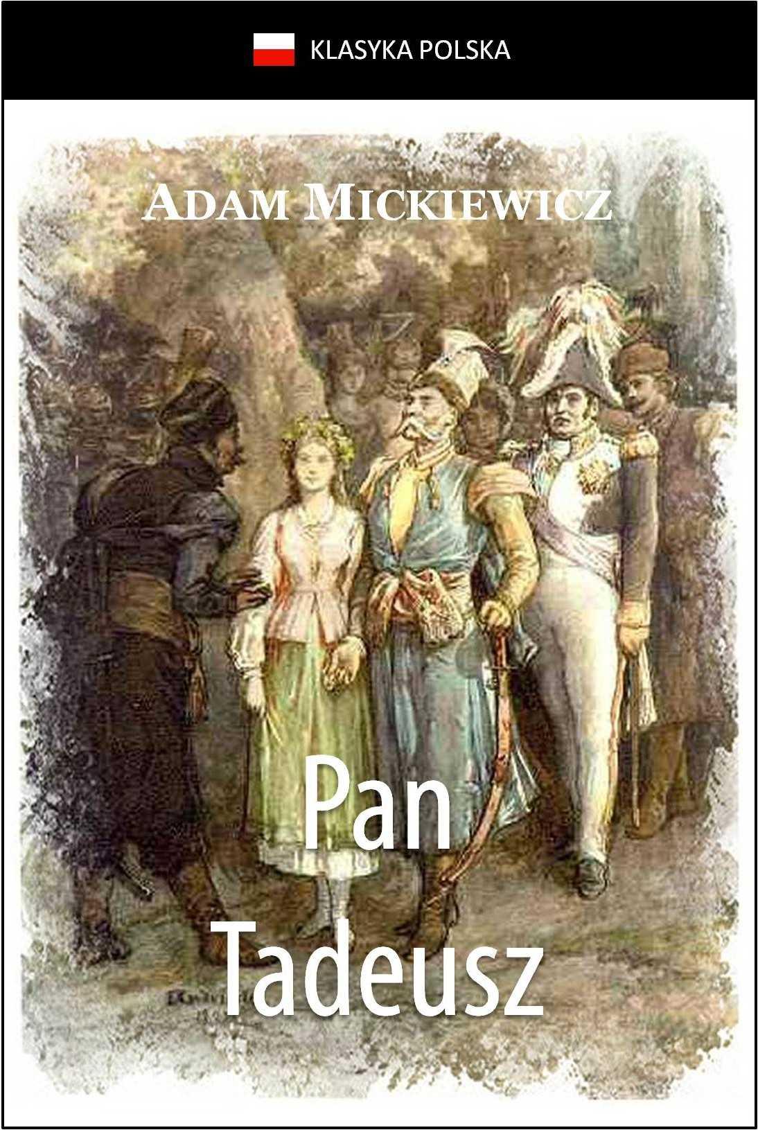 Pan Tadeusz - Ebook (Książka na Kindle) do pobrania w formacie MOBI
