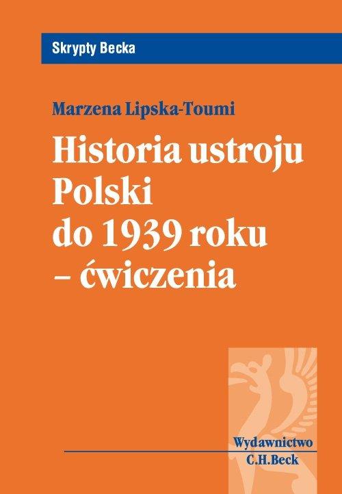 Historia ustroju Polski do 1939 r. - ćwiczenia - Ebook (Książka PDF) do pobrania w formacie PDF