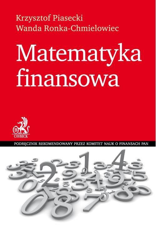 Matematyka finansowa - Ebook (Książka PDF) do pobrania w formacie PDF