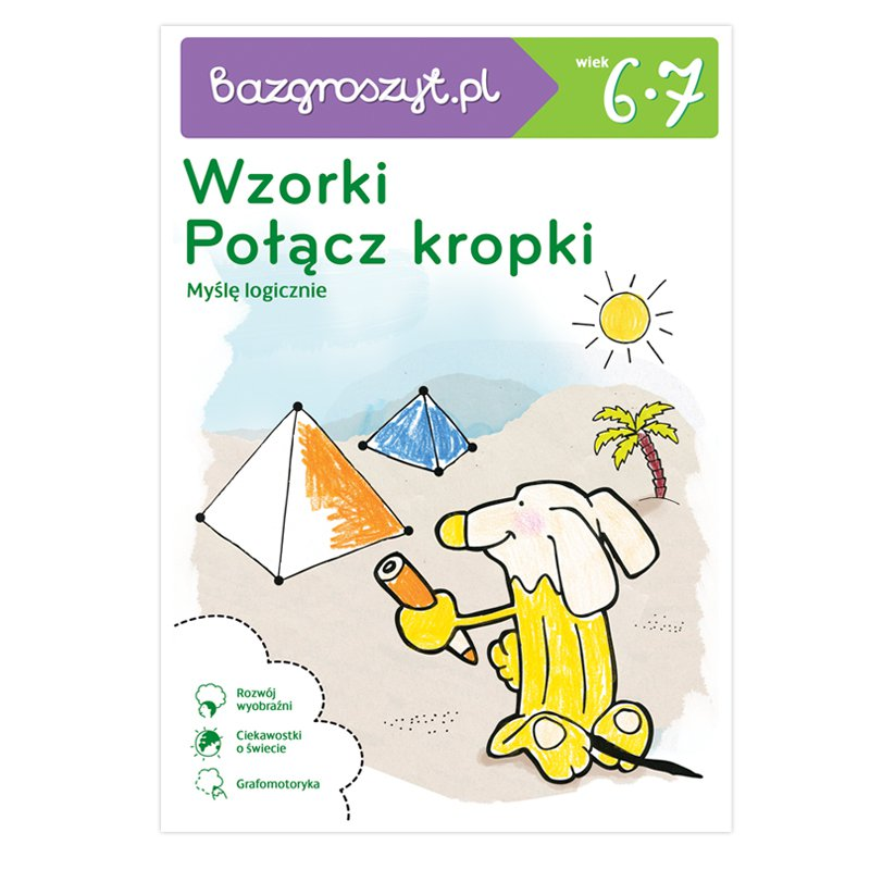 Bazgroszyt Wzorki i Połącz kropki - Ebook (Książka PDF) do pobrania w formacie PDF