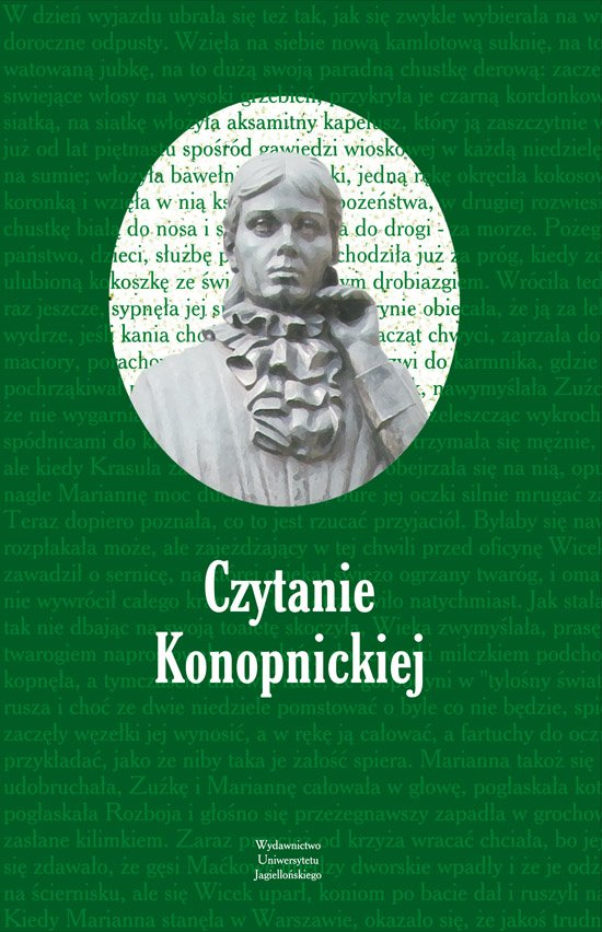 Czytanie Konopnickiej - Ebook (Książka PDF) do pobrania w formacie PDF