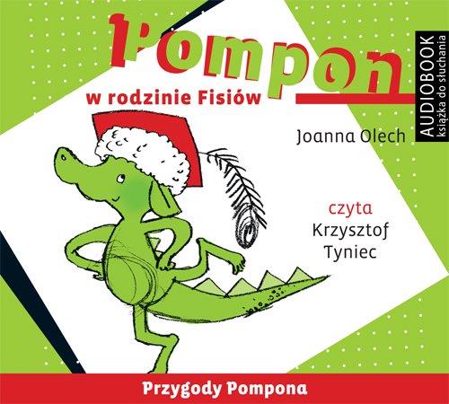 Pompon w rodzinie Fisiów - Audiobook (Książka audio MP3) do pobrania w całości w archiwum ZIP
