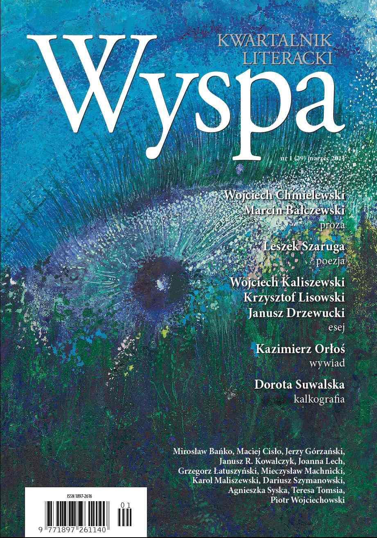 WYSPA Kwartalnik Literacki - nr 1/2014 (29) - Ebook (Książka EPUB) do pobrania w formacie EPUB