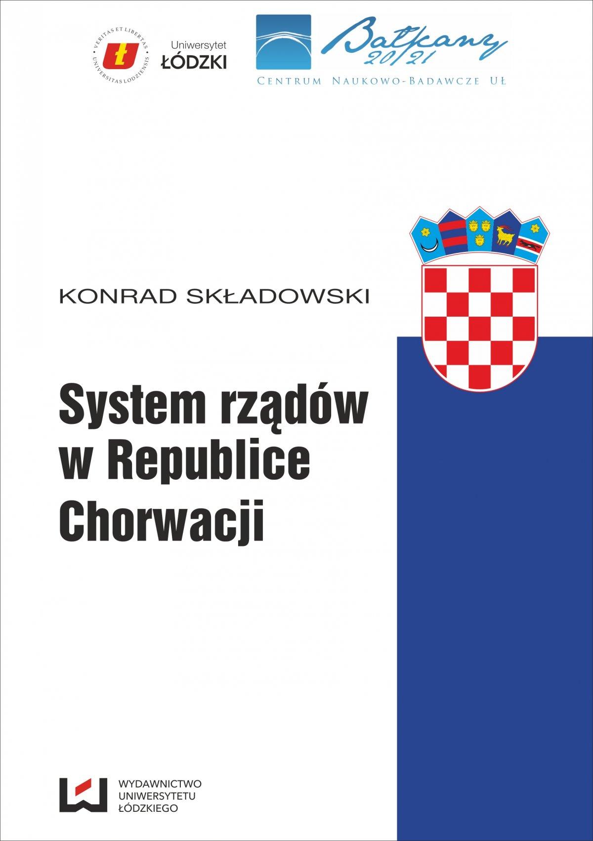 System rządów w Republice Chorwacji - Ebook (Książka PDF) do pobrania w formacie PDF