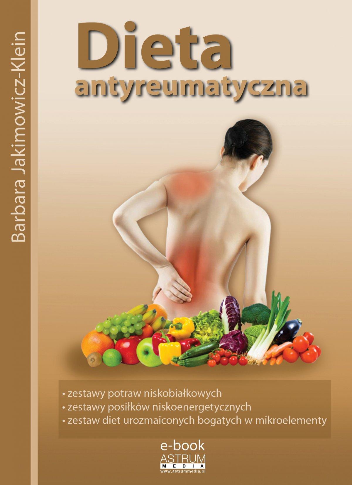Dieta antyreumatyczna - Ebook (Książka PDF) do pobrania w formacie PDF