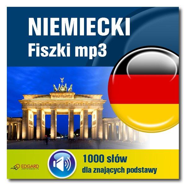 Niemiecki Fiszki mp3 1000 słówek dla znających podstawy - Audiobook (Książka audio MP3) do pobrania w całości w archiwum ZIP