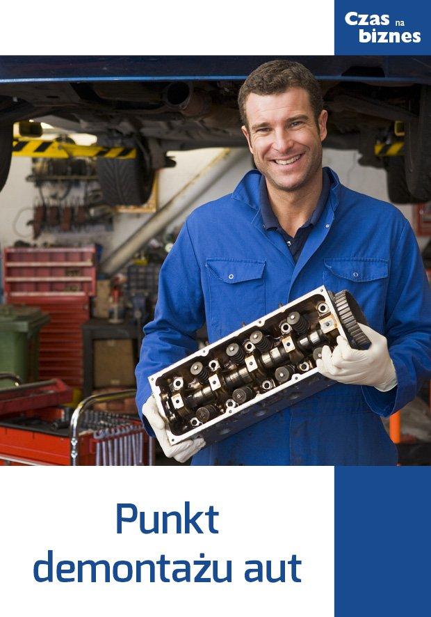Punkt demontażu aut - Ebook (Książka EPUB) do pobrania w formacie EPUB