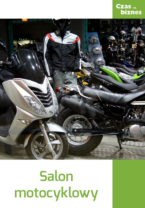 Salon motocyklowy - Ebook (Książka EPUB) do pobrania w formacie EPUB