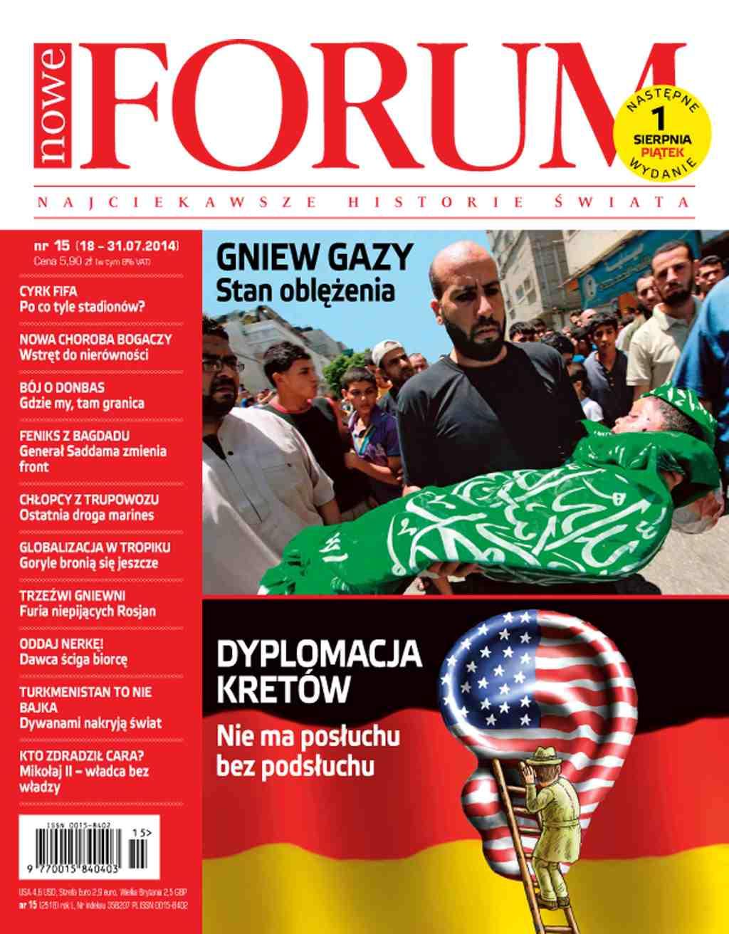 Forum nr 15/2014 - Ebook (Książka PDF) do pobrania w formacie PDF