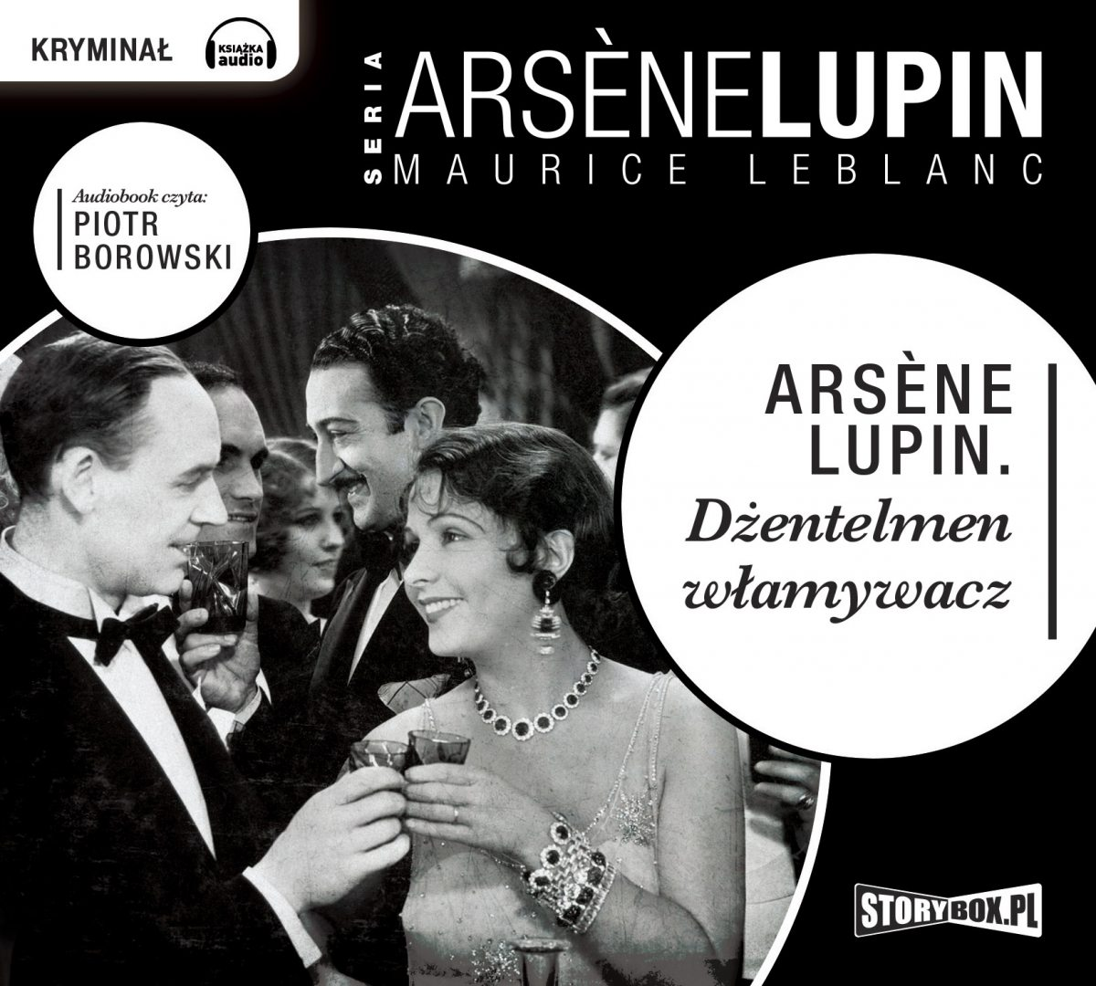 Arsene Lupin dżentelmen włamywacz - Audiobook (Książka audio MP3) do pobrania w całości w archiwum ZIP