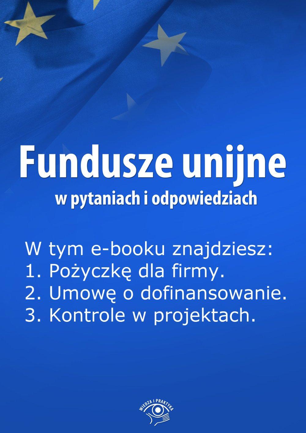 Fundusze unijne w pytaniach i odpowiedziach. Wydanie kwiecień 2014 r. - Ebook (Książka EPUB) do pobrania w formacie EPUB