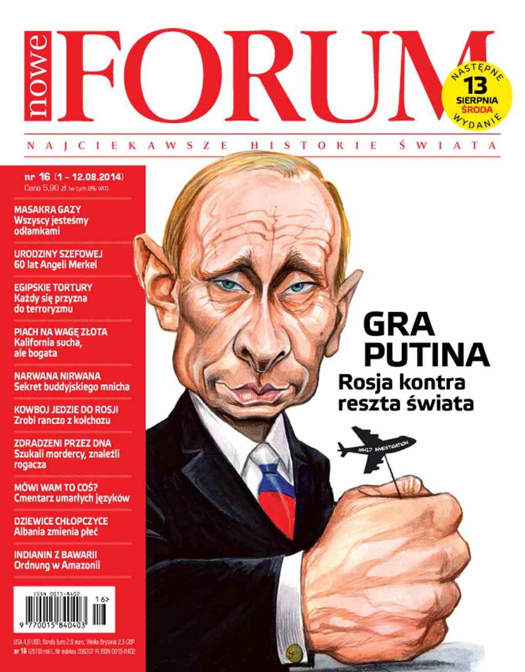 Forum nr 16/2014 - Ebook (Książka PDF) do pobrania w formacie PDF