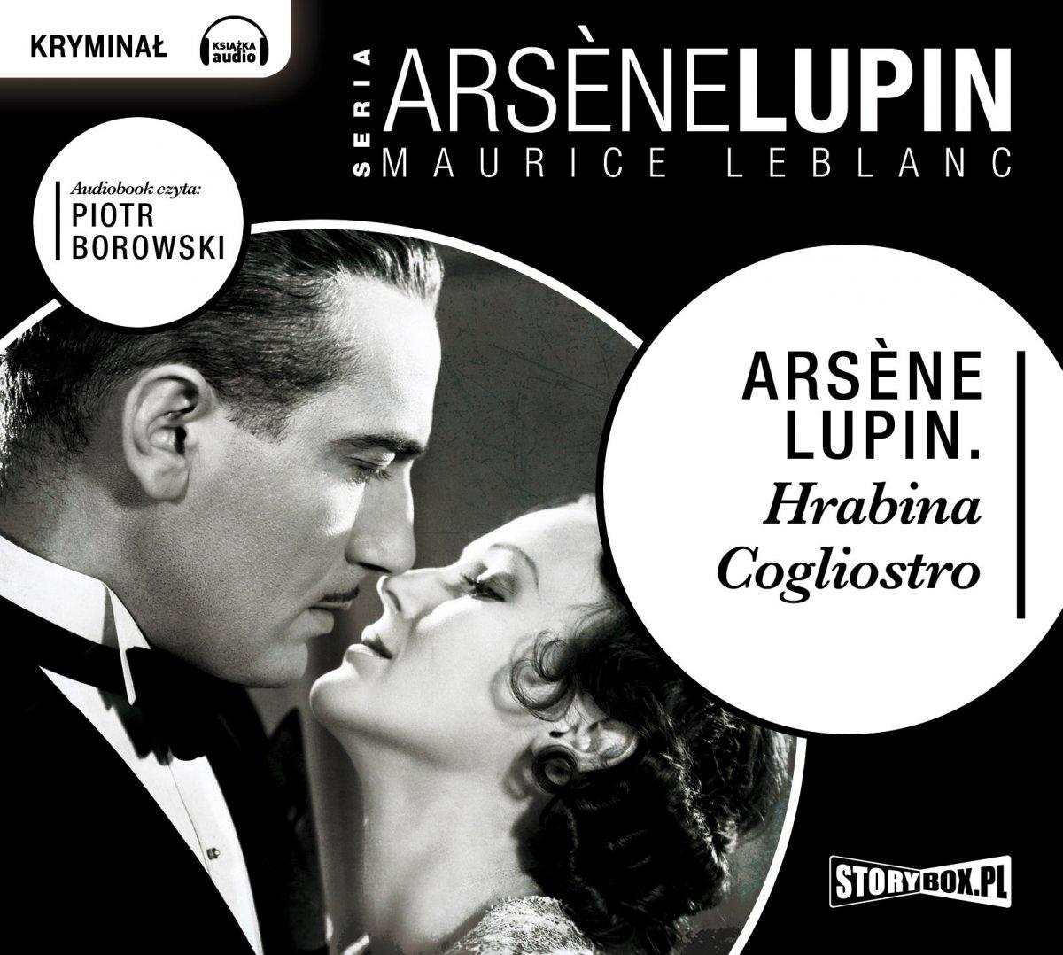 Arsene Lupin Hrabina Cagliostro - Audiobook (Książka audio MP3) do pobrania w całości w archiwum ZIP