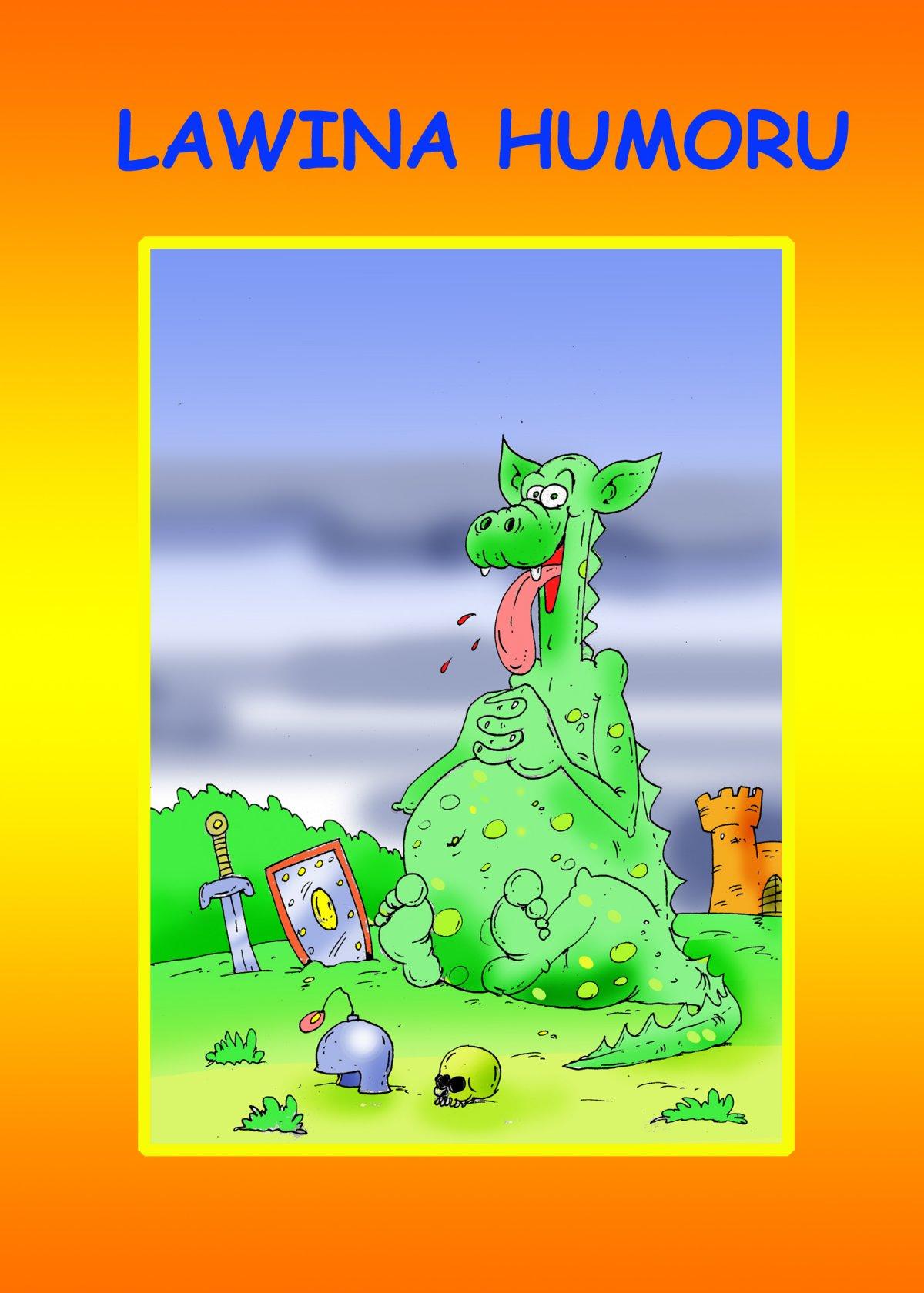 Lawina humoru - Ebook (Książka na Kindle) do pobrania w formacie MOBI
