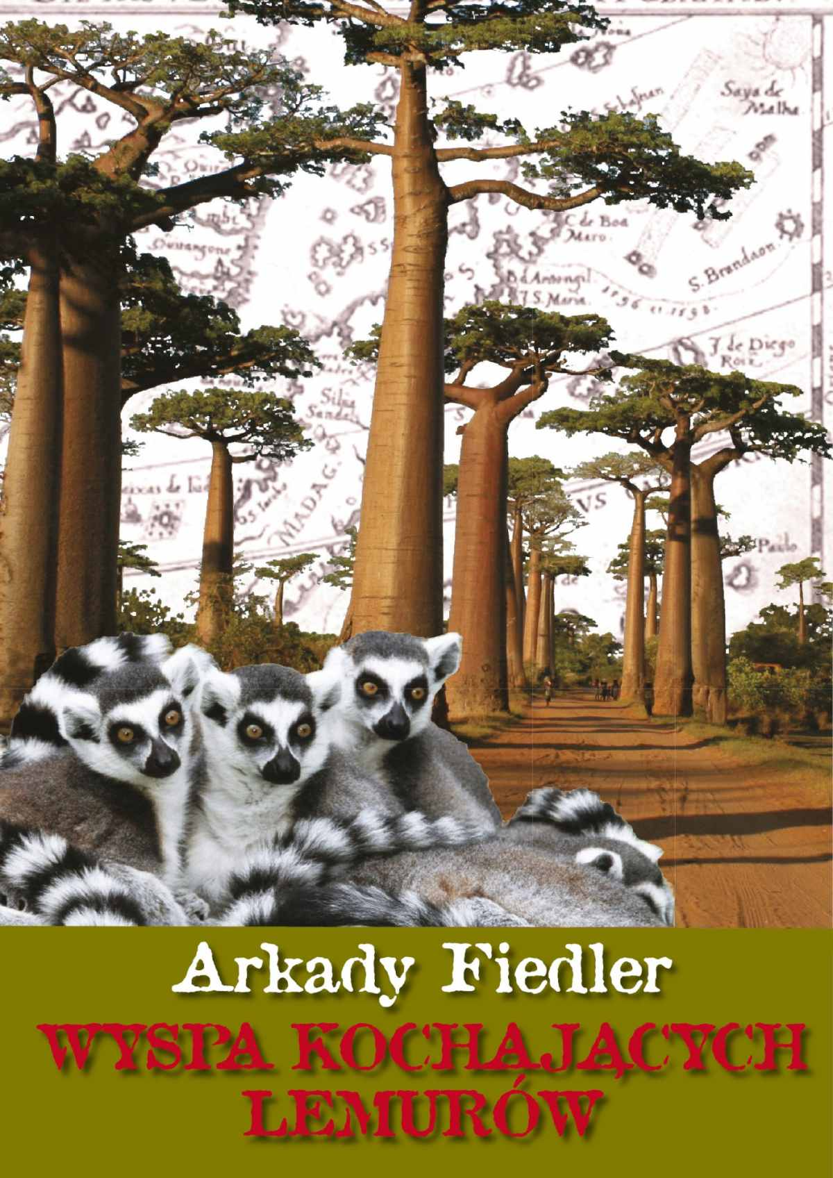 Wyspa kochających lemurów - Ebook (Książka EPUB) do pobrania w formacie EPUB