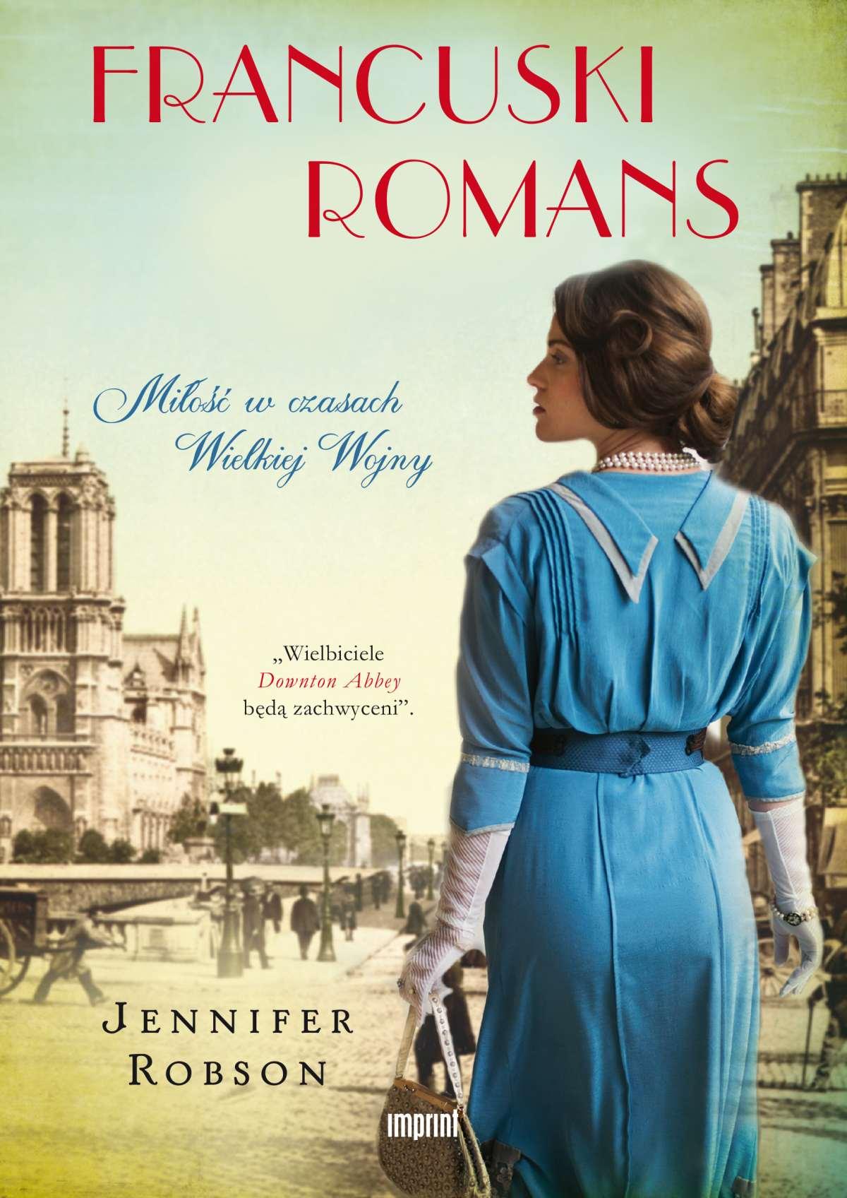 Francuski romans. Miłość w czasach Wielkiej Wojny - Ebook (Książka na Kindle) do pobrania w formacie MOBI