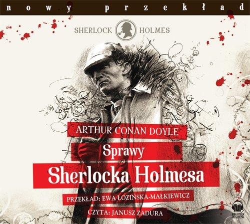 Sprawy Sherlocka Holmesa - Audiobook (Książka audio MP3) do pobrania w całości w archiwum ZIP