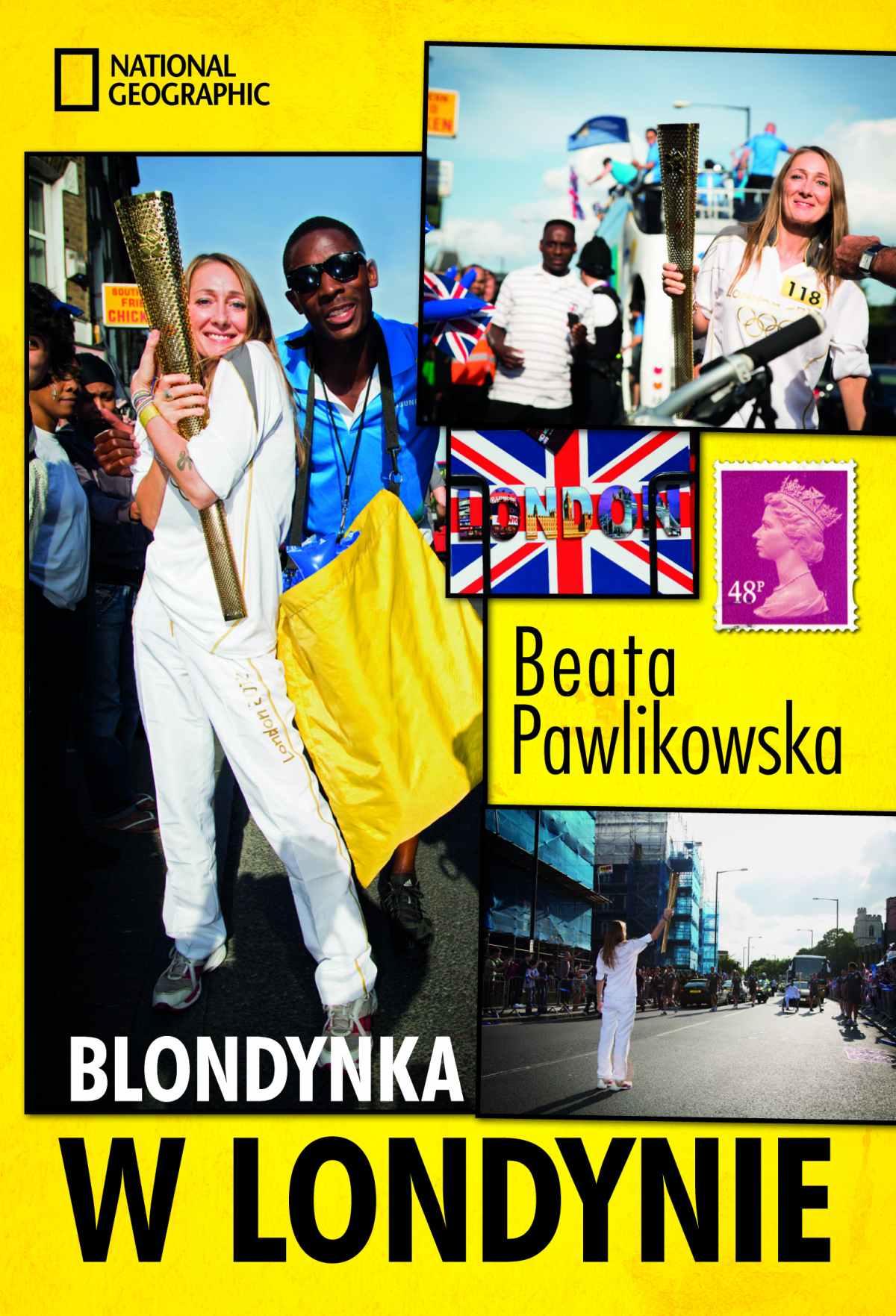 Blondynka w Londynie - Ebook (Książka na Kindle) do pobrania w formacie MOBI