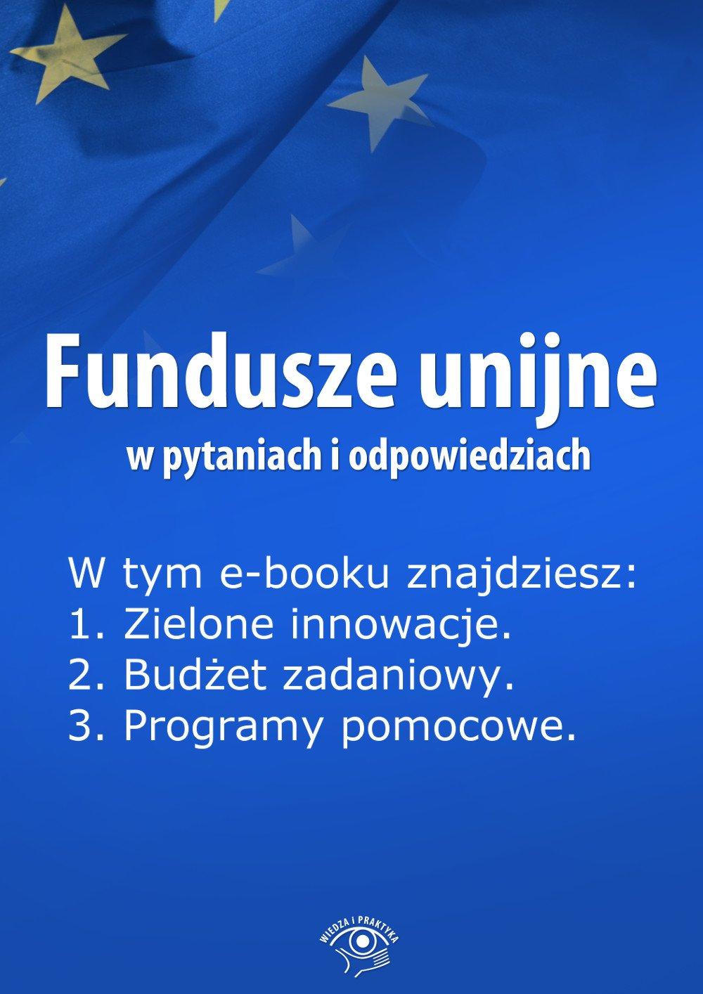 Fundusze unijne w pytaniach i odpowiedziach. Wydanie maj 2014 r. - Ebook (Książka EPUB) do pobrania w formacie EPUB