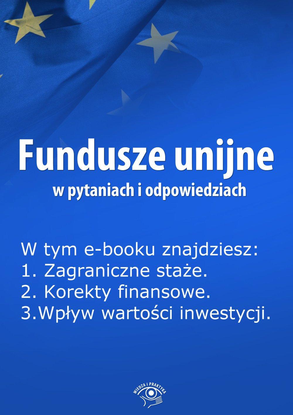 Fundusze unijne w pytaniach i odpowiedziach. Wydanie lipiec 2014 r. - Ebook (Książka EPUB) do pobrania w formacie EPUB