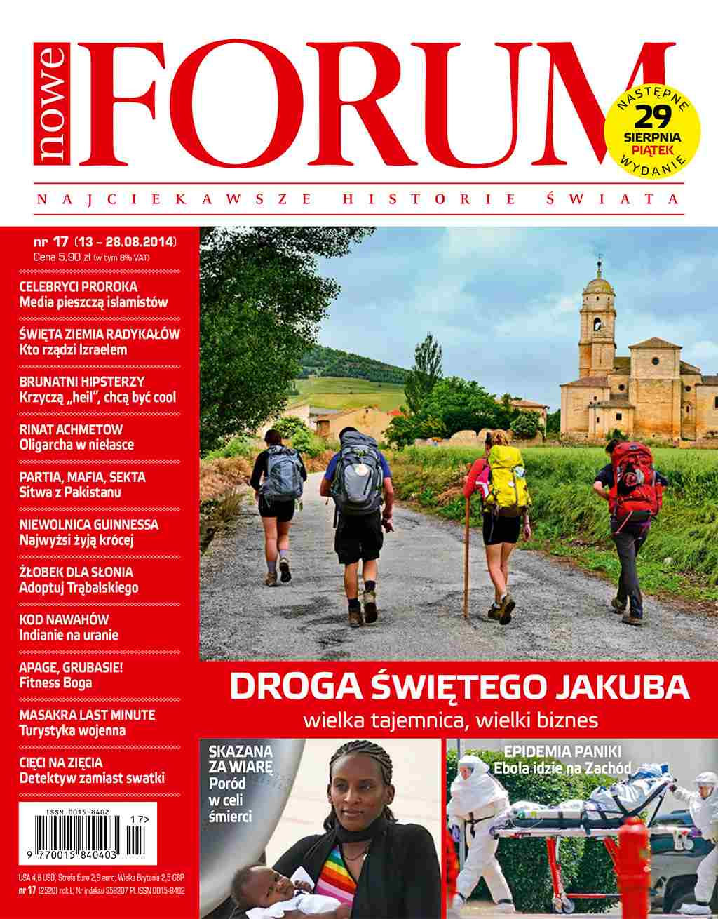 Forum nr 17/2014 - Ebook (Książka PDF) do pobrania w formacie PDF
