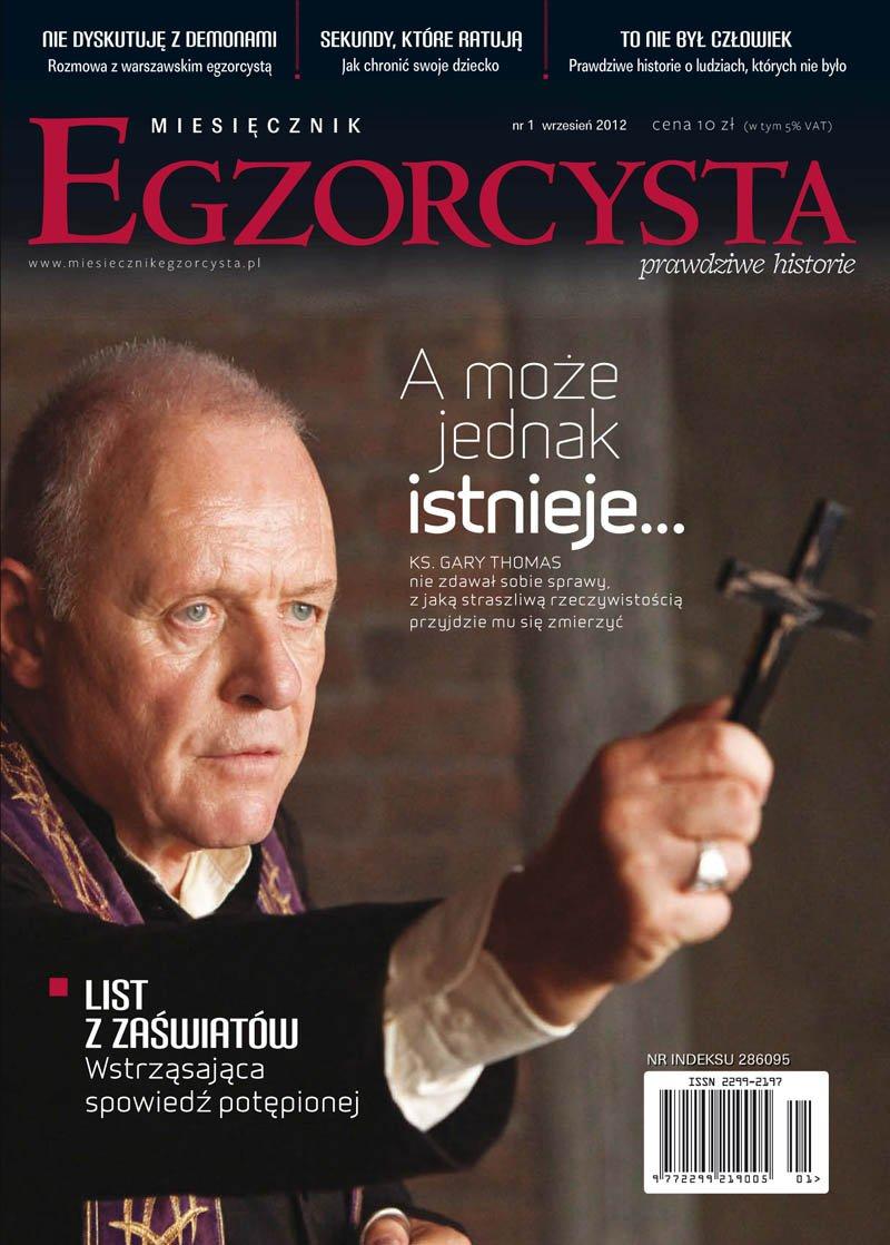 Miesięcznik Egzorcysta. Wrzesień 2012 - Ebook (Książka PDF) do pobrania w formacie PDF