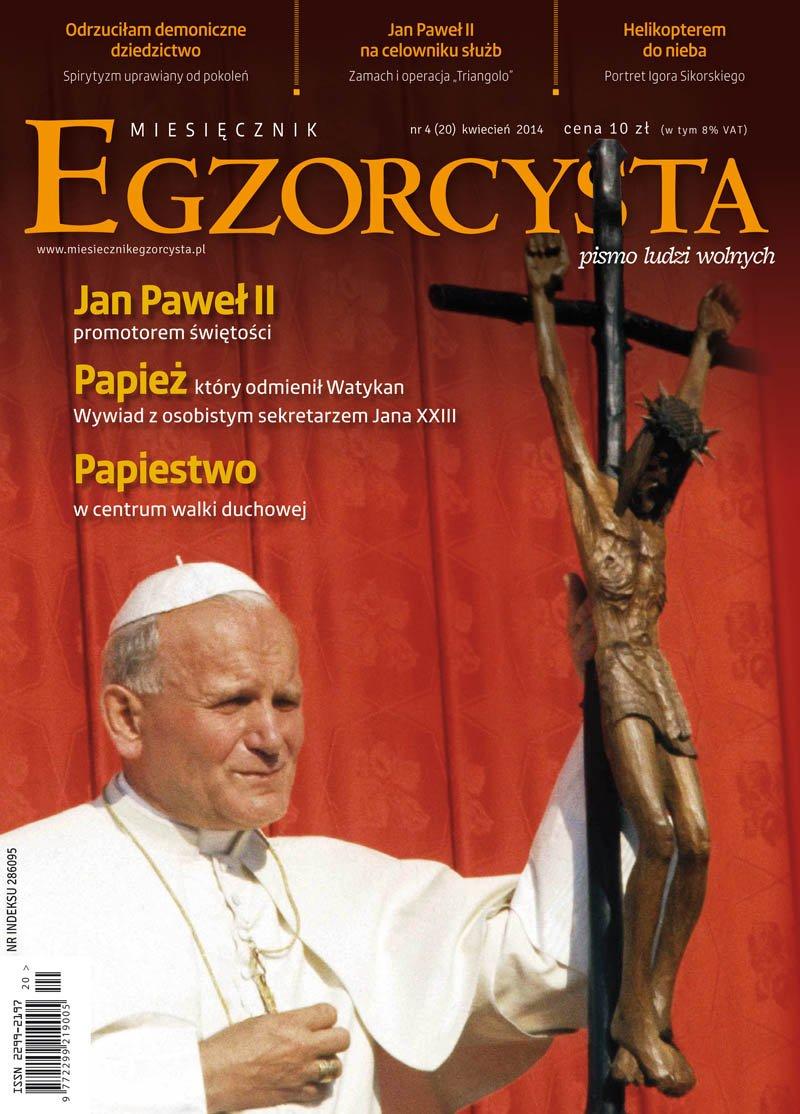 Miesięcznik Egzorcysta. Kwiecień 2014 - Ebook (Książka PDF) do pobrania w formacie PDF