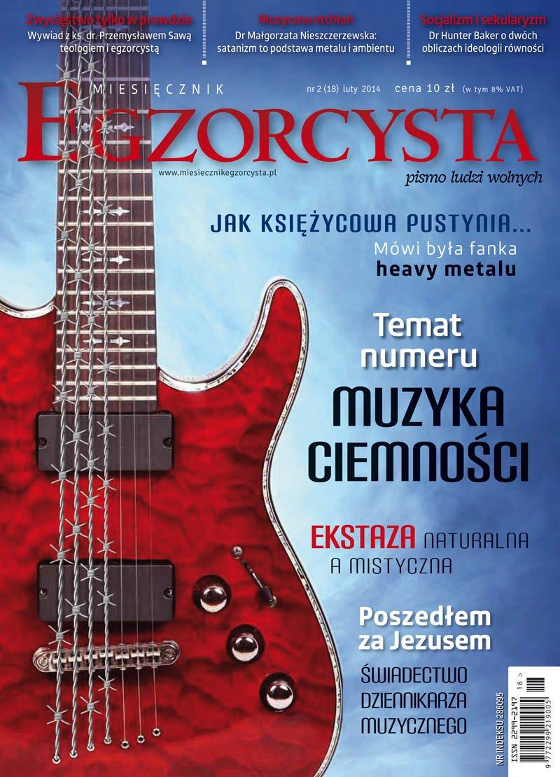 Miesięcznik Egzorcysta. Luty 2014 - Ebook (Książka PDF) do pobrania w formacie PDF