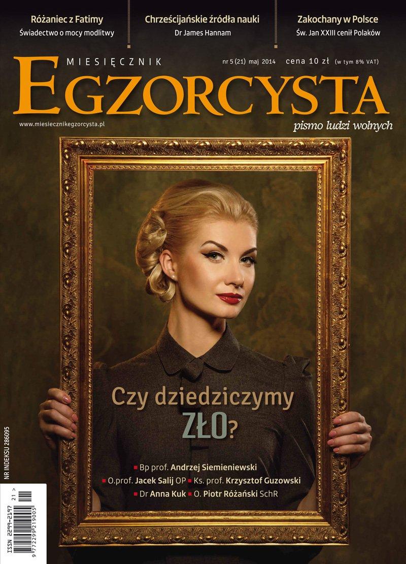 Miesięcznik Egzorcysta. Maj 2014 - Ebook (Książka PDF) do pobrania w formacie PDF
