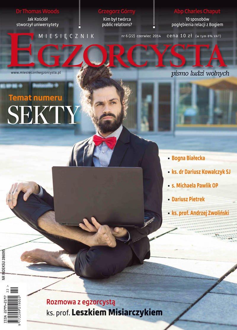 Miesięcznik Egzorcysta. Czerwiec 2014 - Ebook (Książka PDF) do pobrania w formacie PDF