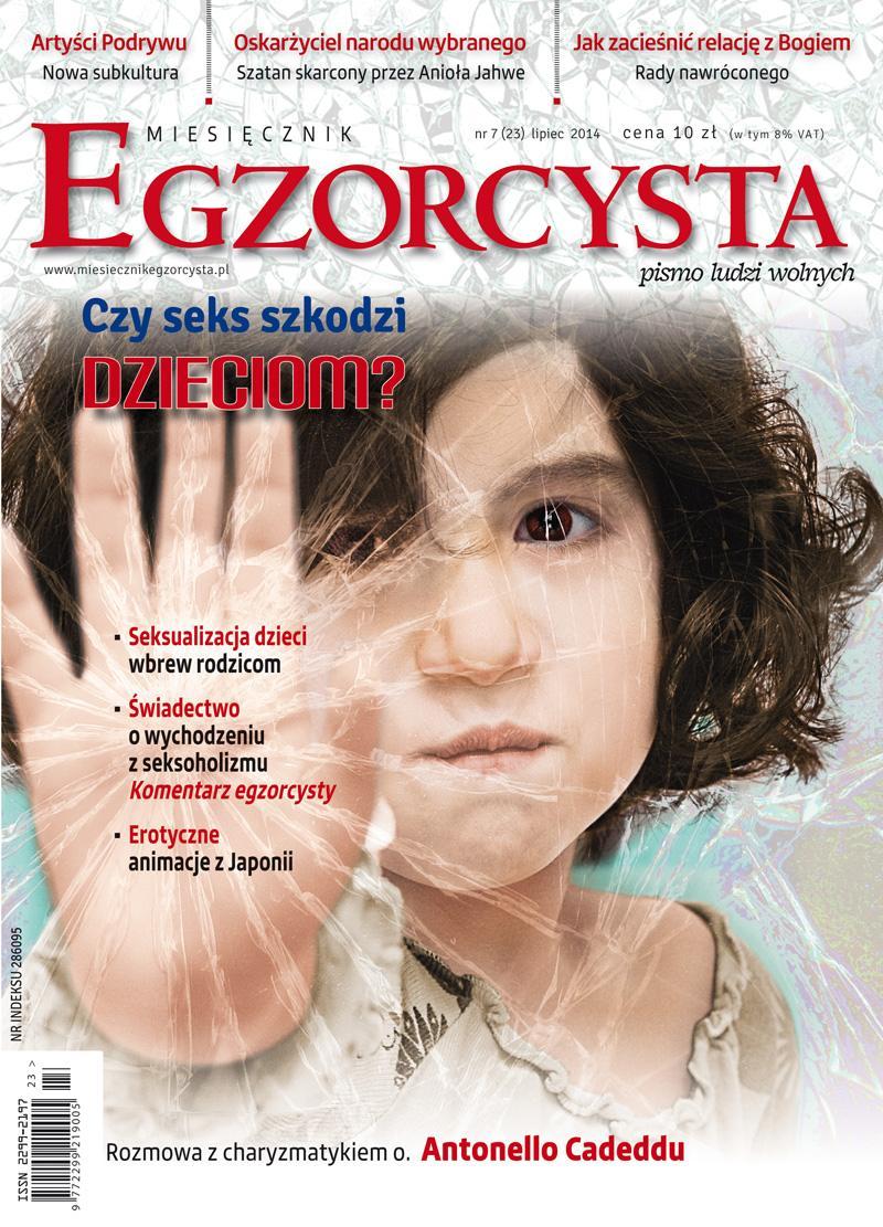Miesięcznik Egzorcysta. Lipiec 2014 - Ebook (Książka PDF) do pobrania w formacie PDF