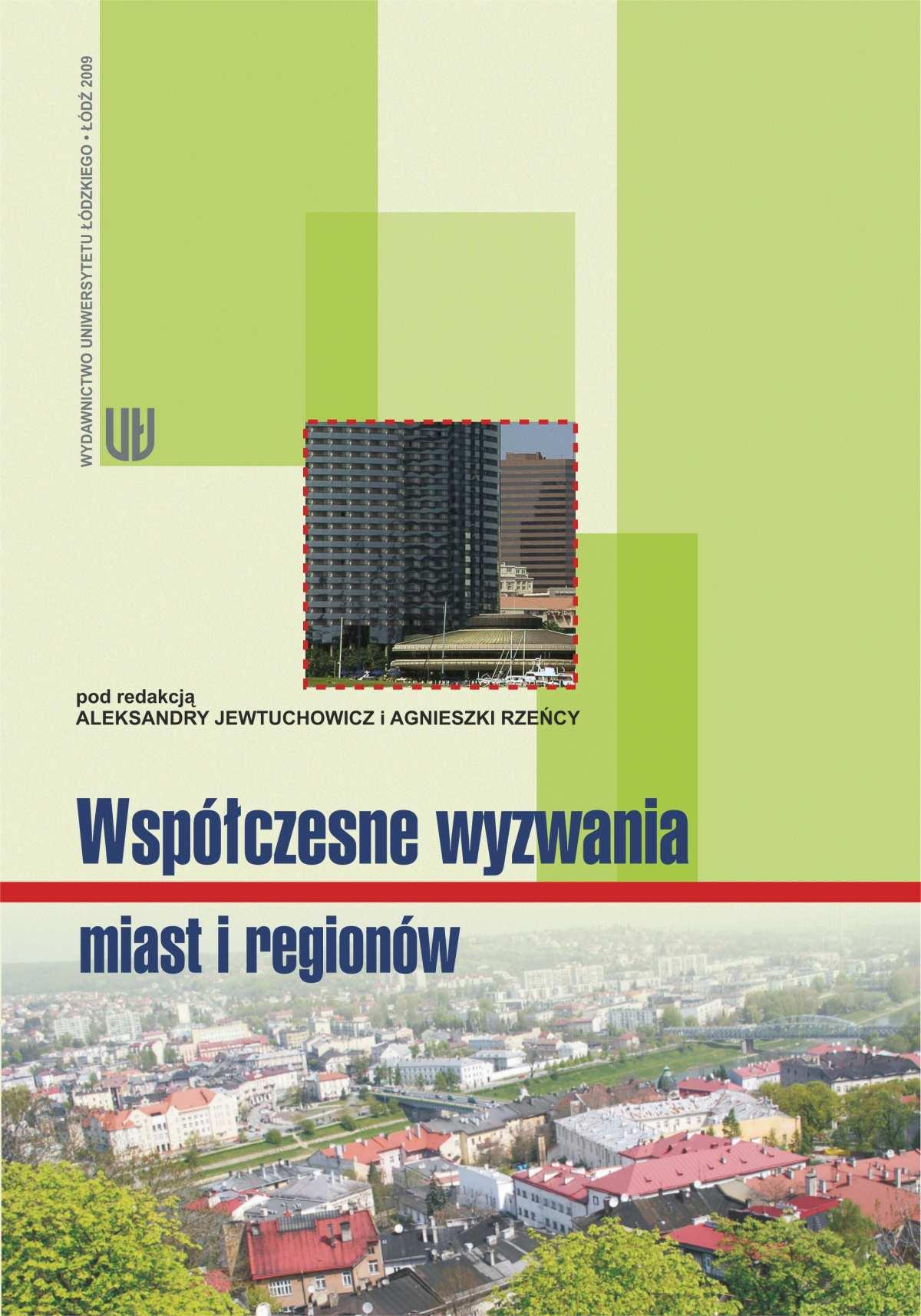Współczesne wyzwania miast i regionów - Ebook (Książka PDF) do pobrania w formacie PDF