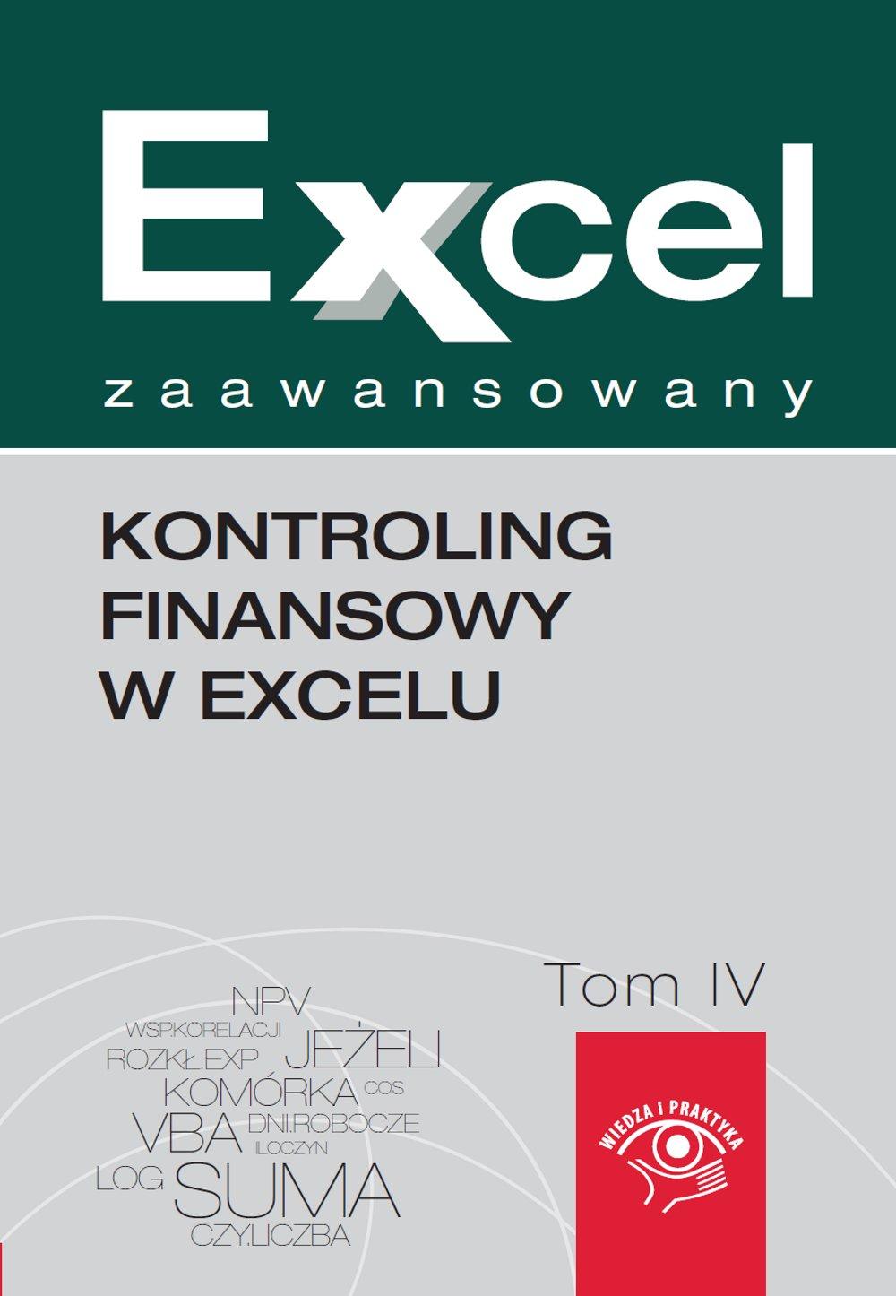 Kontroling finansowy w Excelu - Ebook (Książka na Kindle) do pobrania w formacie MOBI