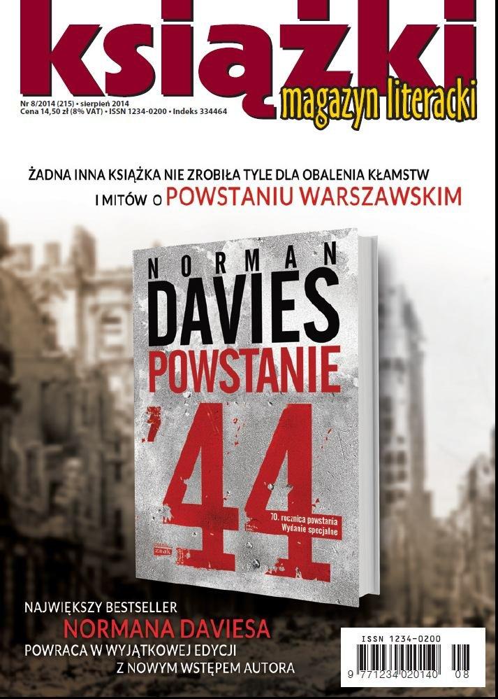 Magazyn Literacki KSIĄŻKI 8/2014 - Ebook (Książka PDF) do pobrania w formacie PDF