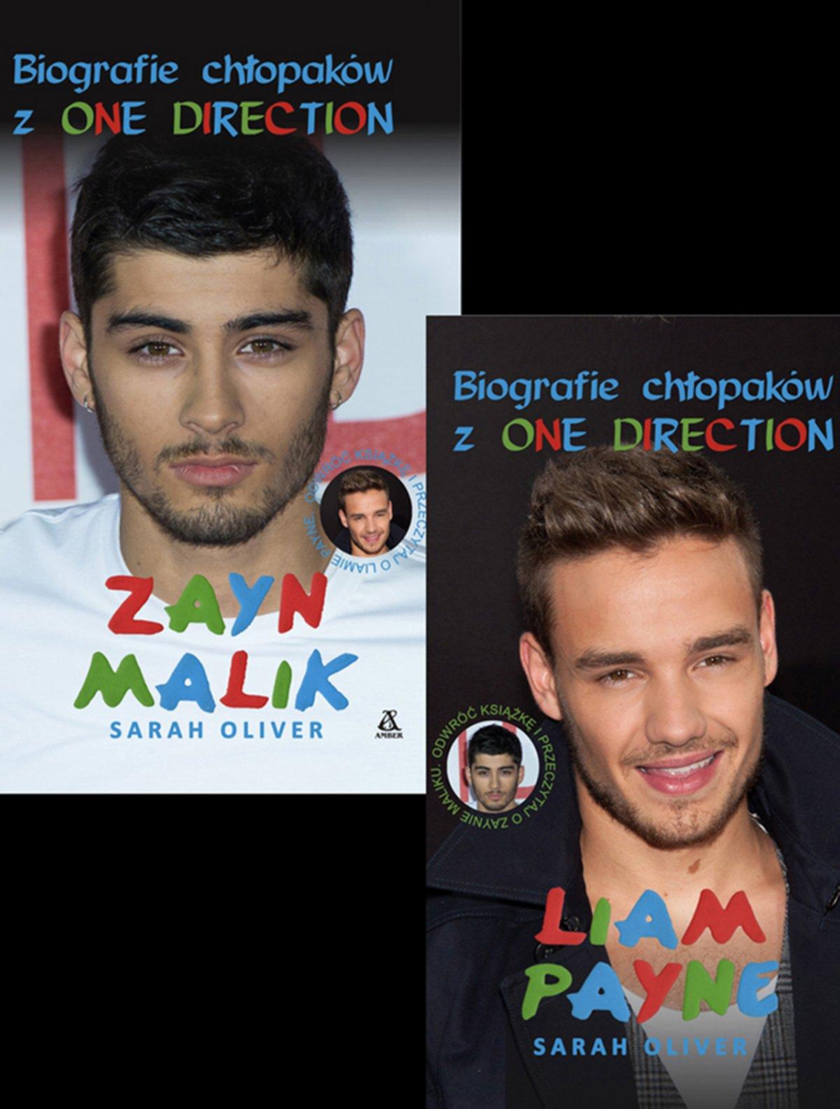 Zayn Malik i Liam Payne. Biografie chłopaków z One Direction - Ebook (Książka EPUB) do pobrania w formacie EPUB