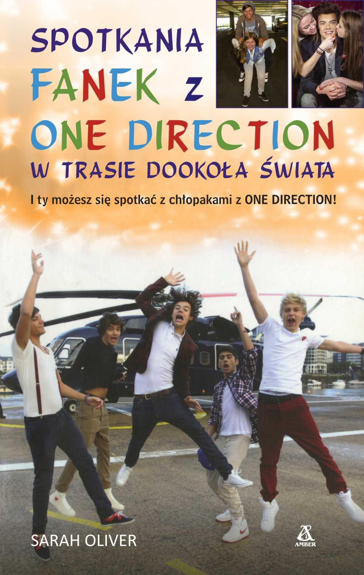 Spotkania fanek z One Direction w trasie dookoła świata - Ebook (Książka na Kindle) do pobrania w formacie MOBI