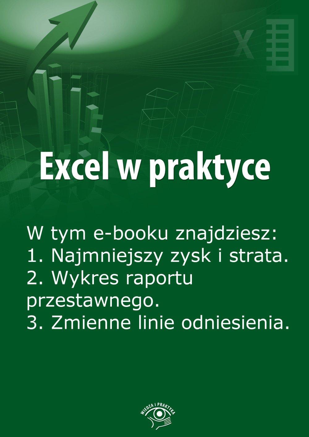 Excel w praktyce. Wydanie kwiecień 2014 r. - Ebook (Książka EPUB) do pobrania w formacie EPUB