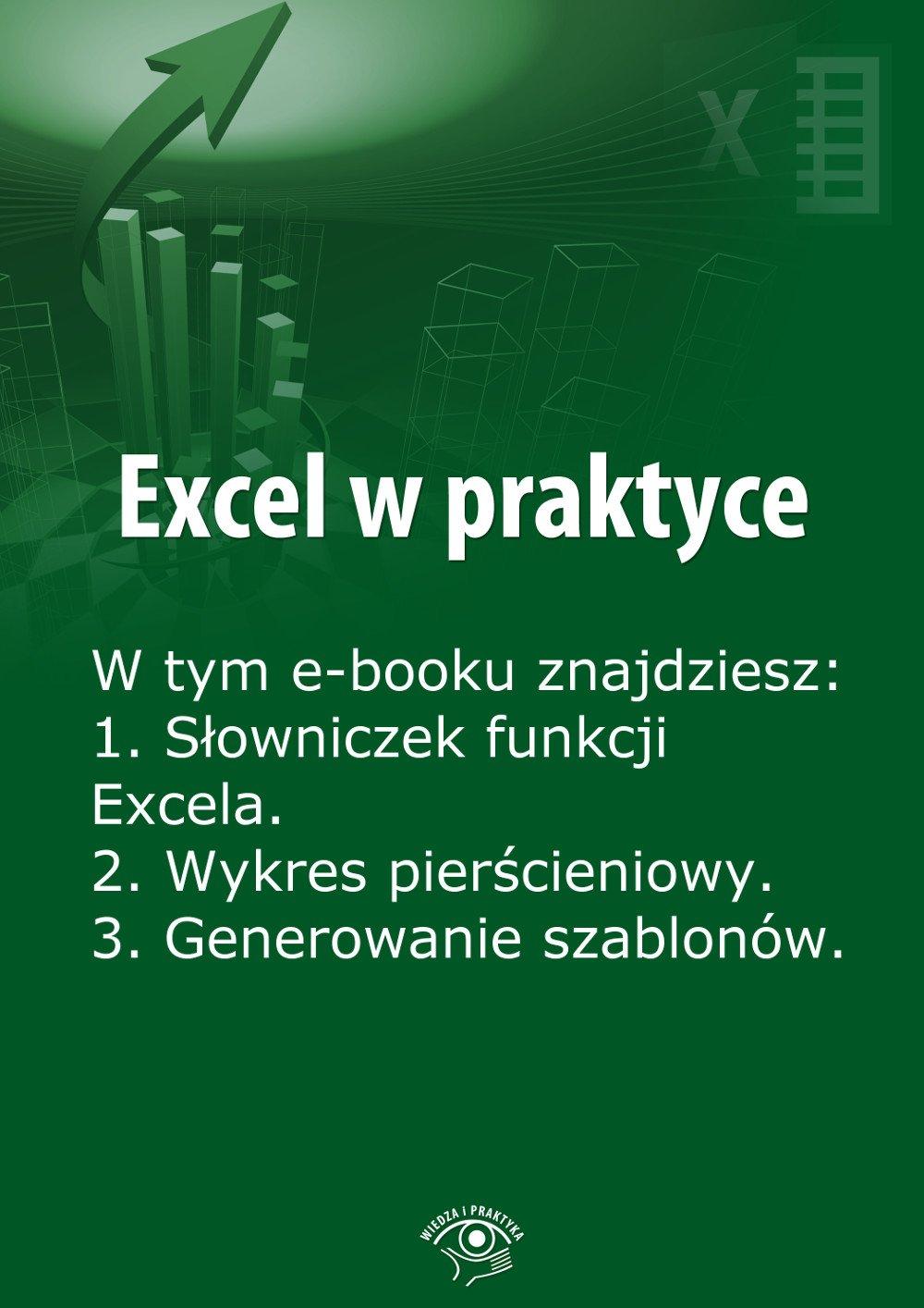 Excel w praktyce. Wydanie maj-czerwiec 2014 r. - Ebook (Książka EPUB) do pobrania w formacie EPUB