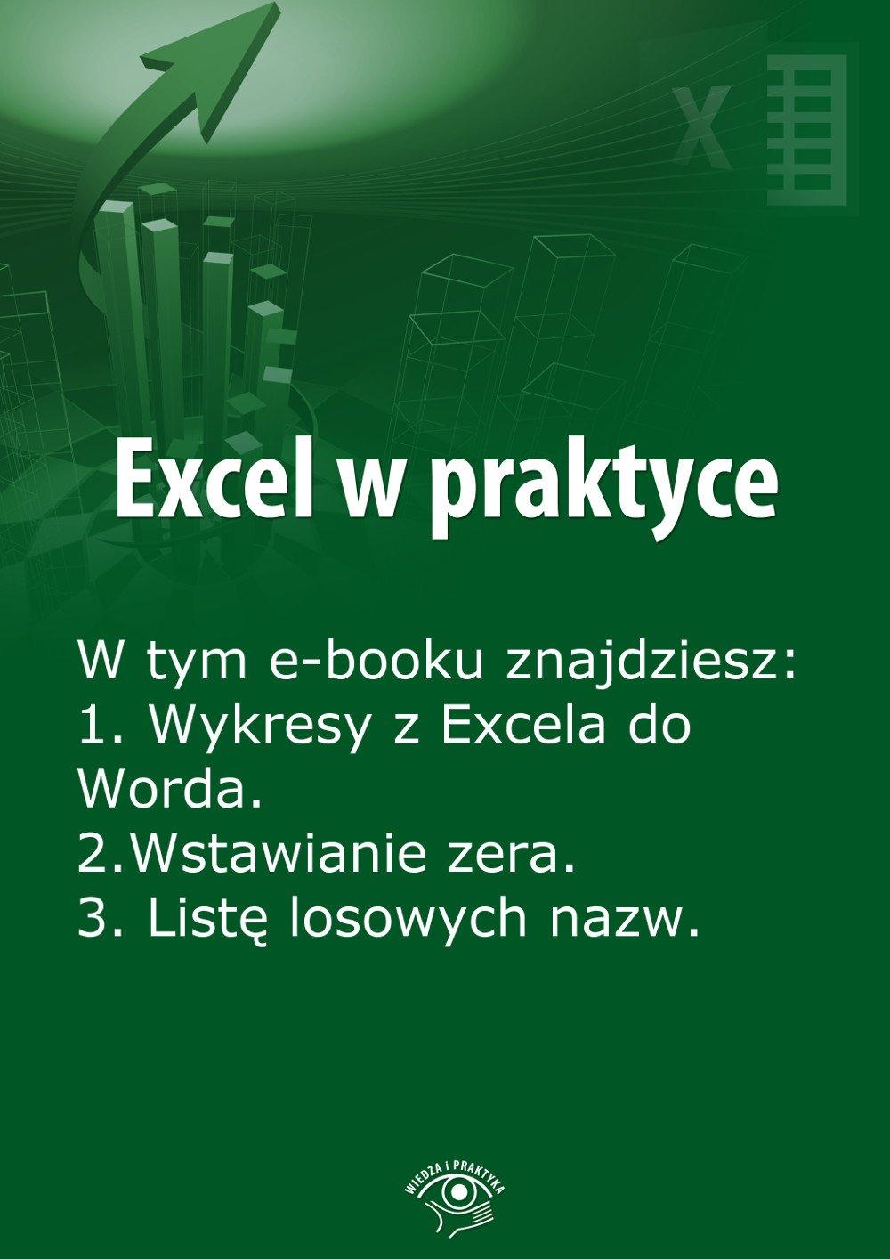 Excel w praktyce. Wydanie lipiec 2014 r. - Ebook (Książka EPUB) do pobrania w formacie EPUB