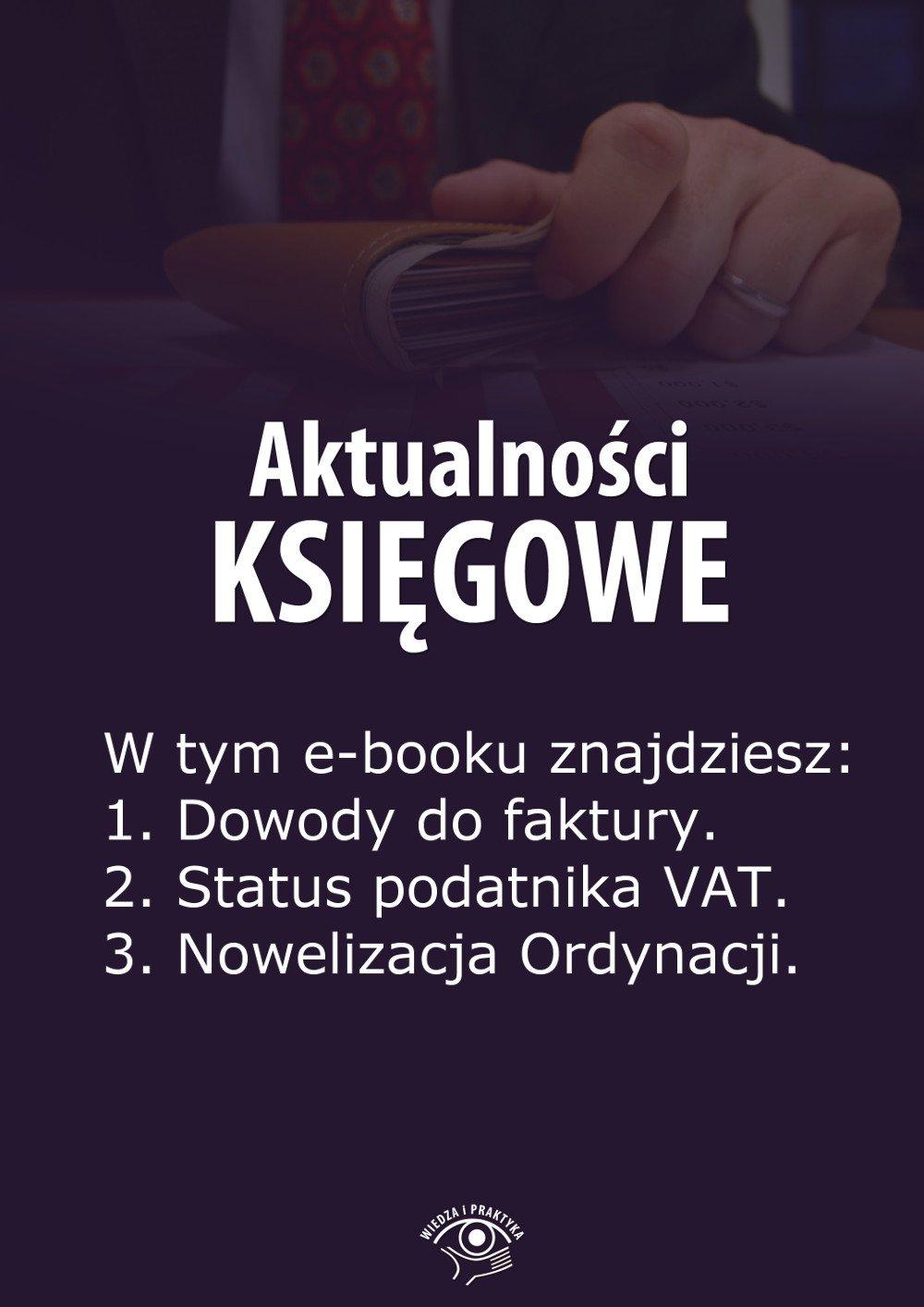 Aktualności księgowe. Wydanie czerwiec 2014 r. - Ebook (Książka EPUB) do pobrania w formacie EPUB