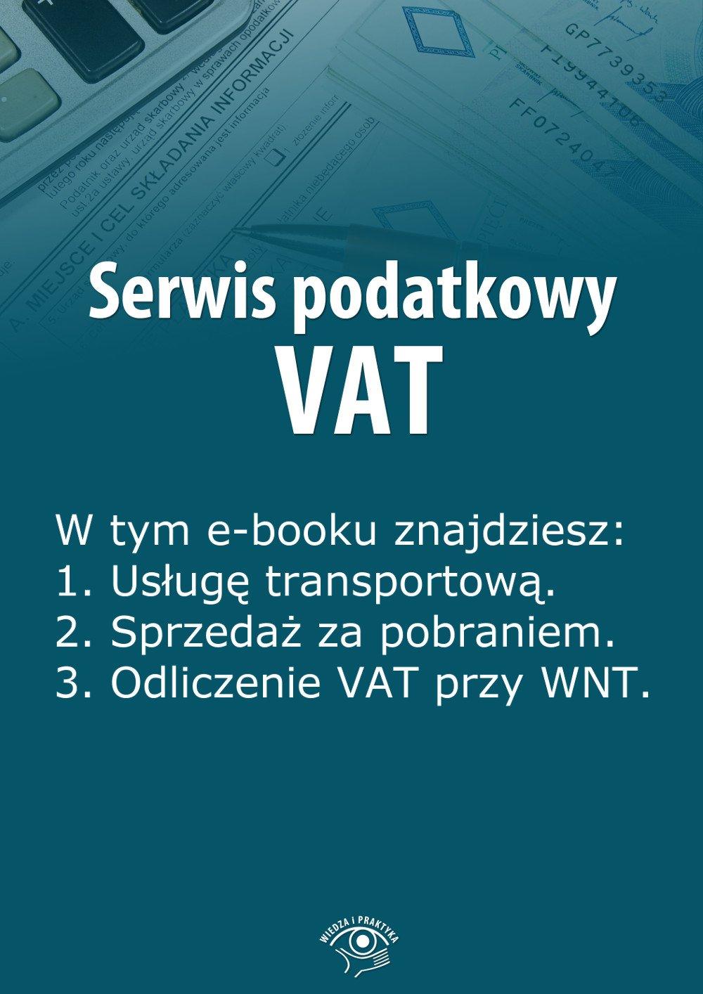 Serwis podatkowy VAT. Wydanie kwiecień 2014 r. - Ebook (Książka EPUB) do pobrania w formacie EPUB