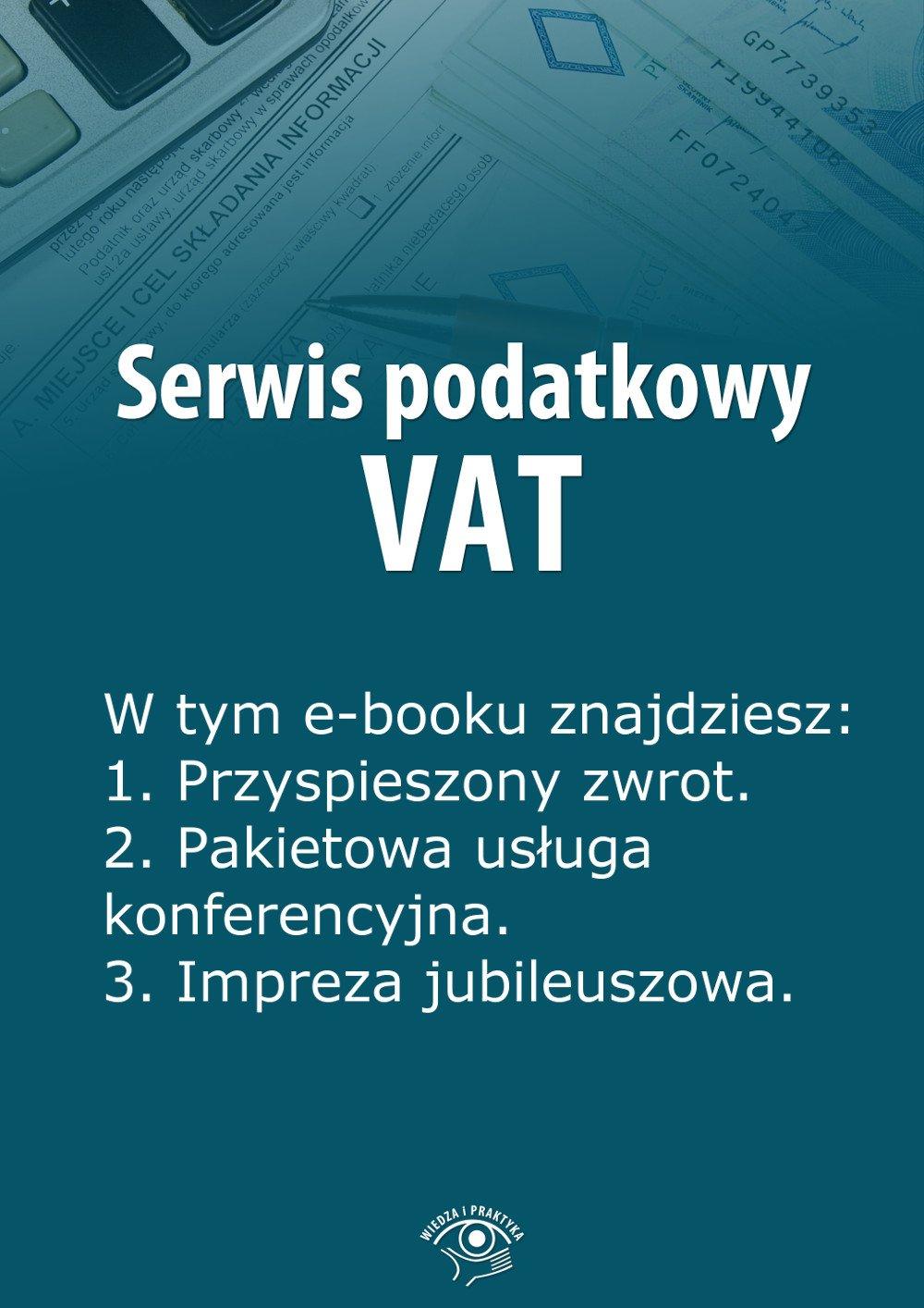 Serwis podatkowy VAT. Wydanie maj 2014 r. - Ebook (Książka EPUB) do pobrania w formacie EPUB