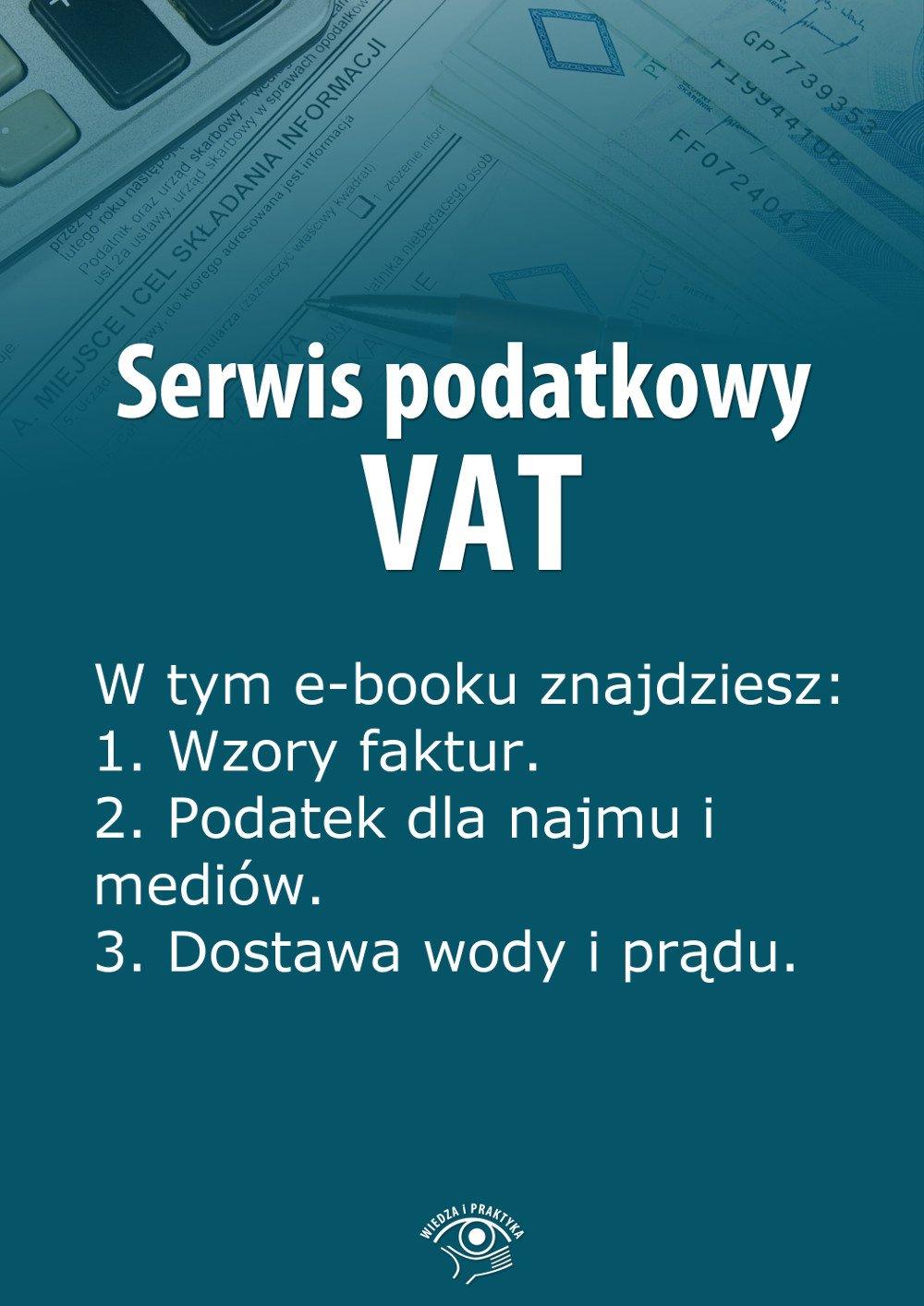 Serwis podatkowy VAT. Wydanie specjalne lipiec-wrzesień 2014 r. - Ebook (Książka EPUB) do pobrania w formacie EPUB