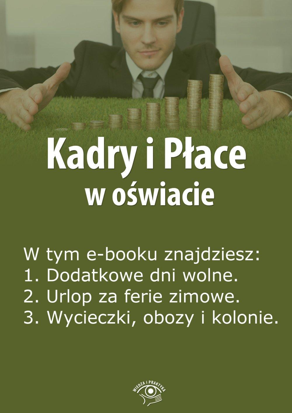 Kadry i Płace w oświacie. Wydanie marzec 2014 r. - Ebook (Książka EPUB) do pobrania w formacie EPUB